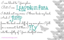 Leaping in Faith