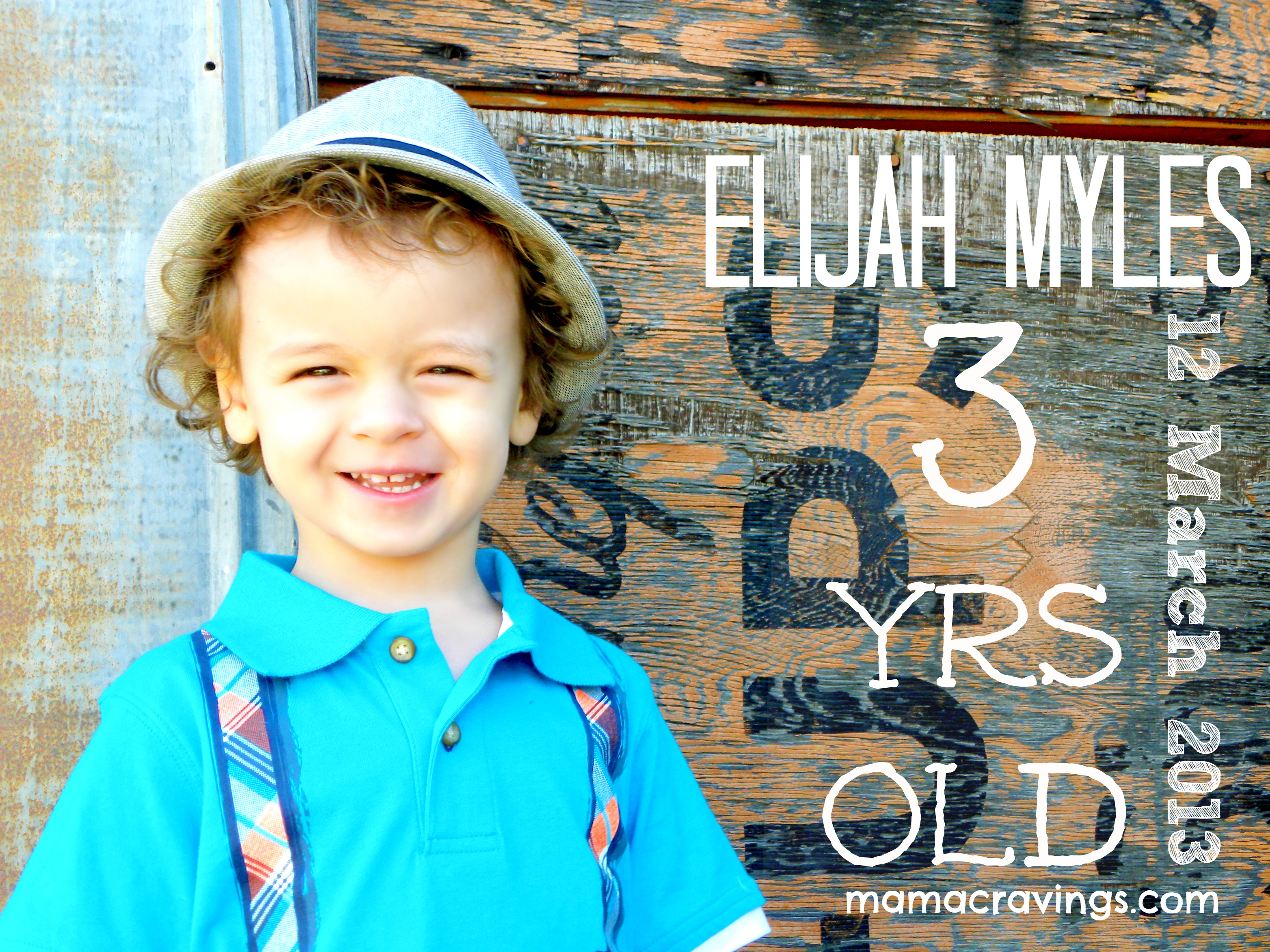 Happy Birthday Elijah Myles