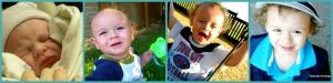 PicMonkey Collage Eli birth through 3 years
